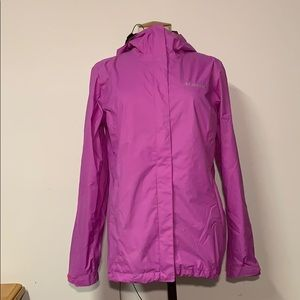 Columbia Pink Rain Coat size Medium